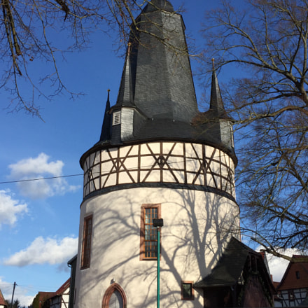 Tower-Church in Untersuhl, Thuringia