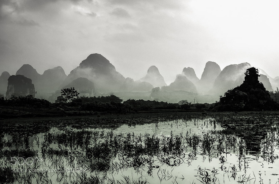 Yangshuo - Dust by Stefan Reiß (srmurphy) on 500px.com