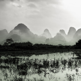 Yangshuo - Dust by Stefan Reiß (srmurphy)) on 500px.com
