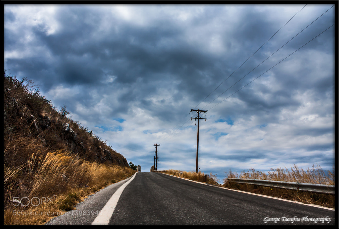 Photograph On The Road by George Tserefos on 500px
