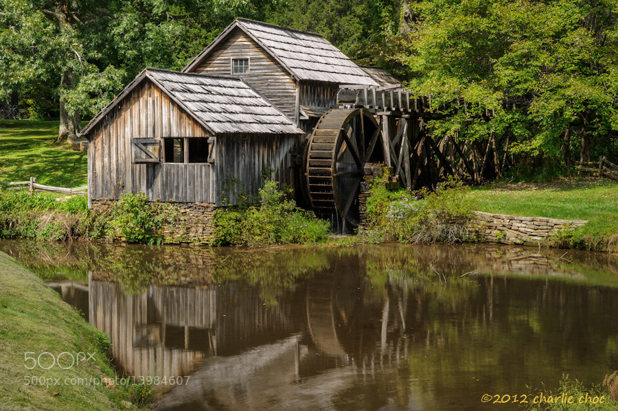 Photograph Mill Reflection by Charlie Choc on 500px