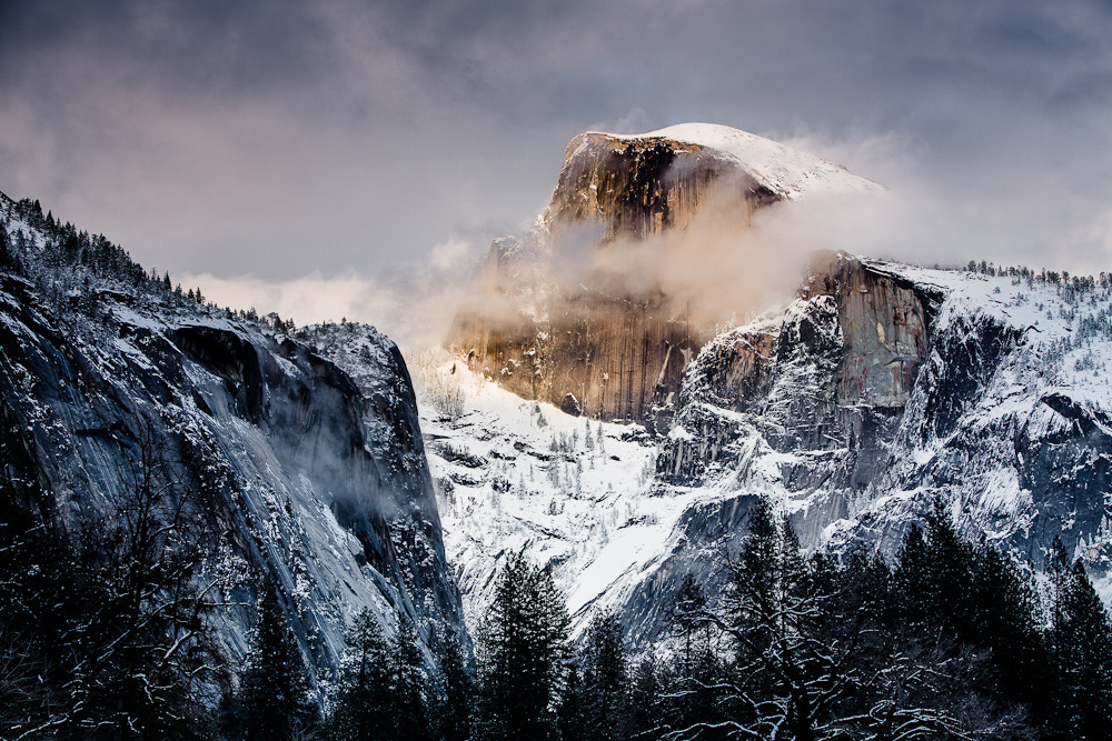 Photograph Half Dome Glow by Timothy Trepetch on 500px