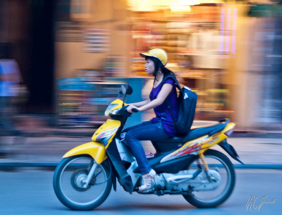 Hanoi bikers..