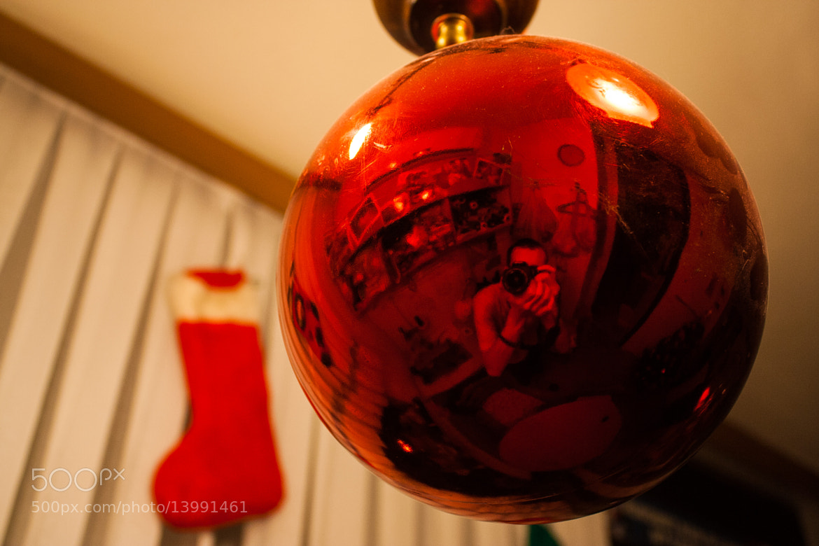 Photograph Christmas self-portrait by Bruno Negovec on 500px