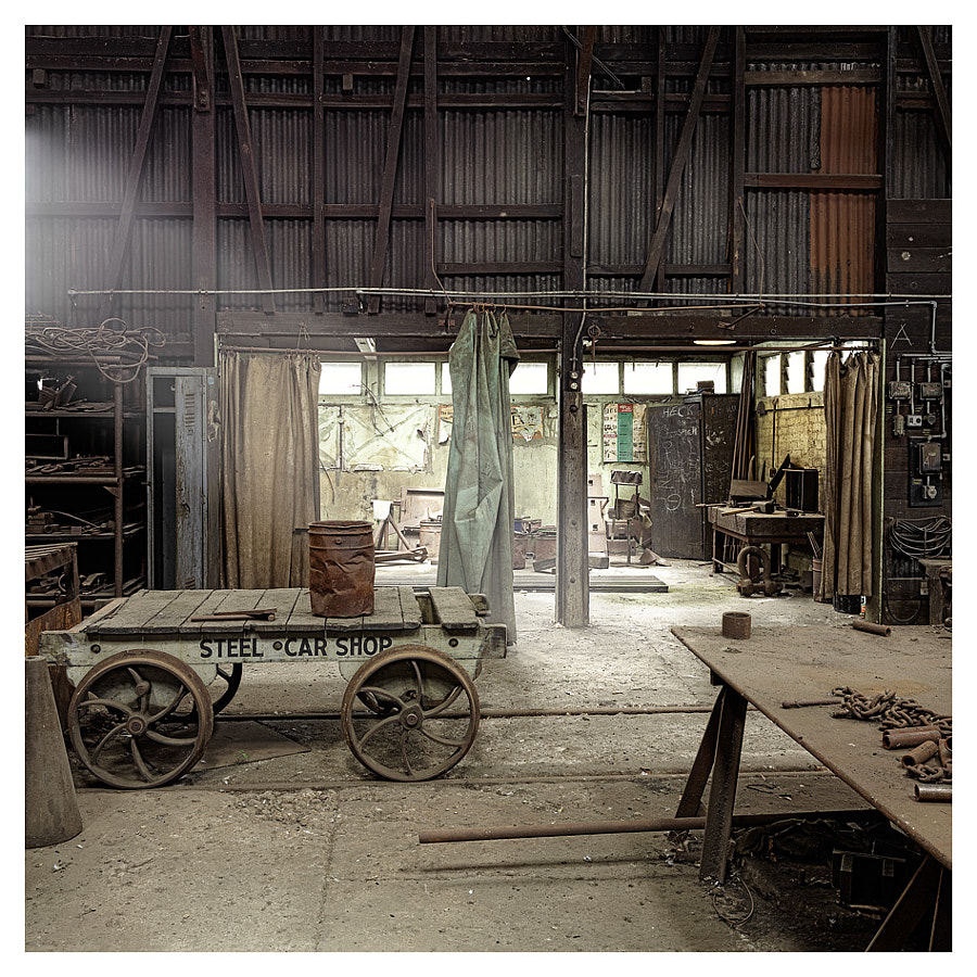 Blacksmith Shed, Tasmania, Australia