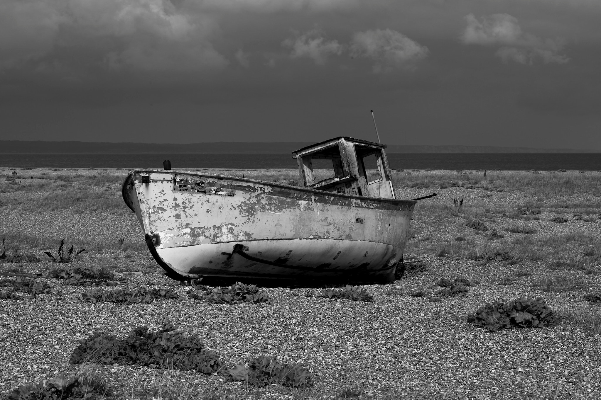 Photograph Boat on Dungeness beach by Rosalind Ray on 500px