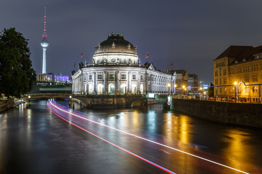 Berlin Museumsinsel by Night