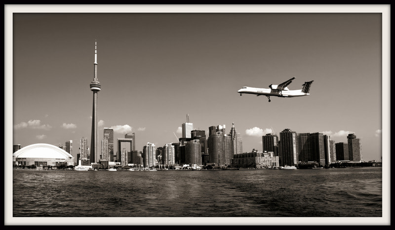 Photograph Landing at Toronto by Erwan Alliaume on 500px