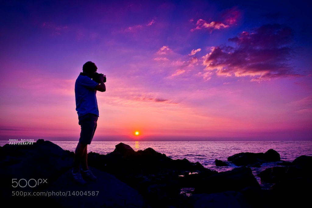 Photograph Shooting at  sunrise by Andrea Rapisarda on 500px