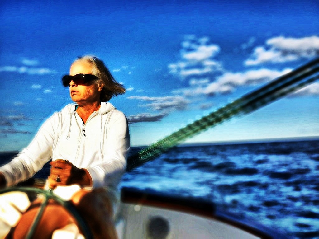 Photograph Barb at the Helm by Doug Eymer on 500px