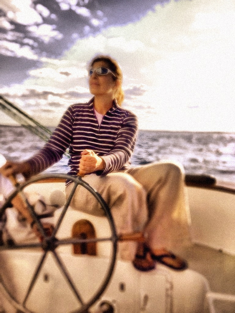 Photograph Selene at the helm by Doug Eymer on 500px