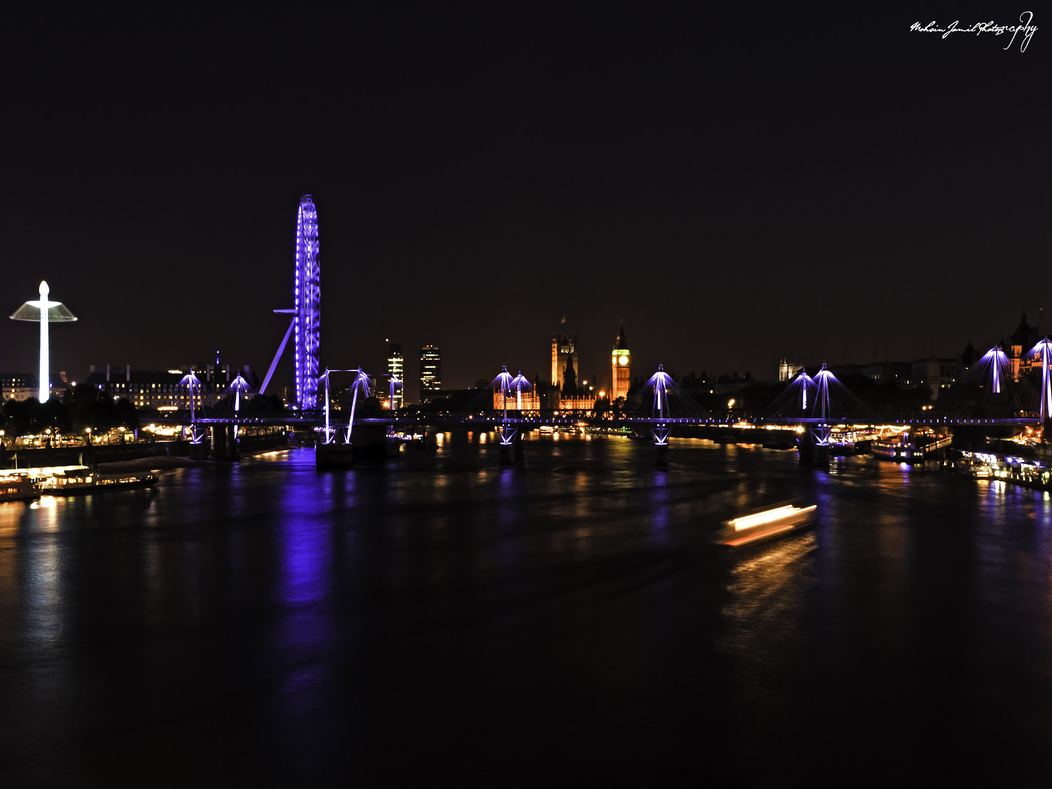 Photograph From Waterloo Bridge by Mohsin Jamil on 500px