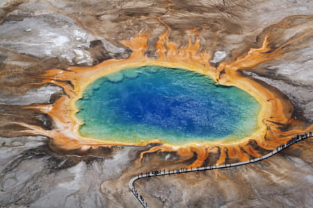 Grand Prismatic Spring, Yellowstone by Heather Balmain on 500px