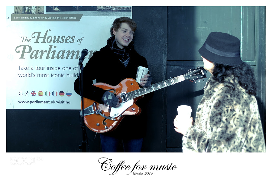 Coffee for music