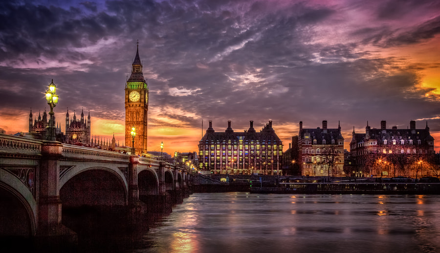 London Town by Björn Jönsson on 500px.com