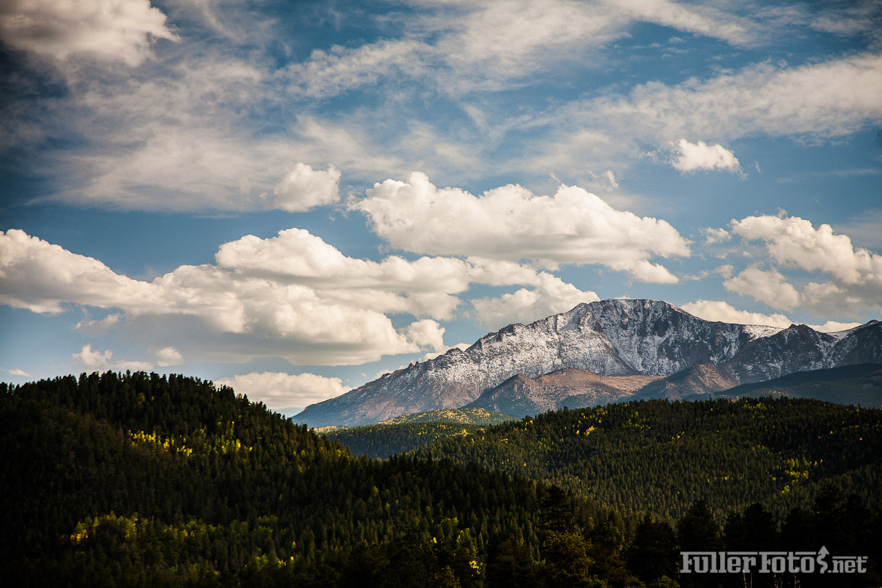 Photograph Pikes Peak in Fall by Tom Fuller on 500px