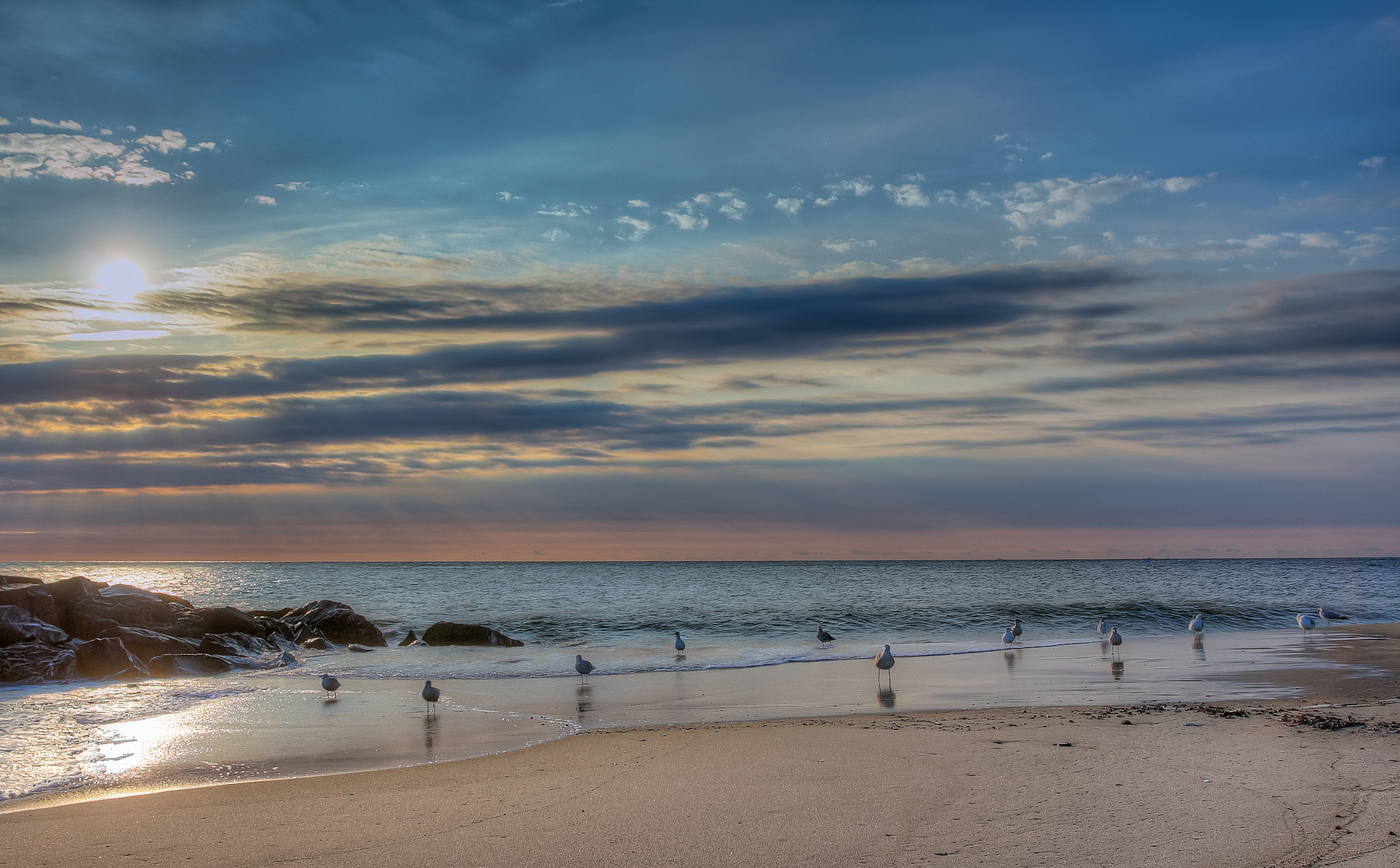 Photograph Sunrise at the Jersey Shore by Angel Escalante on 500px