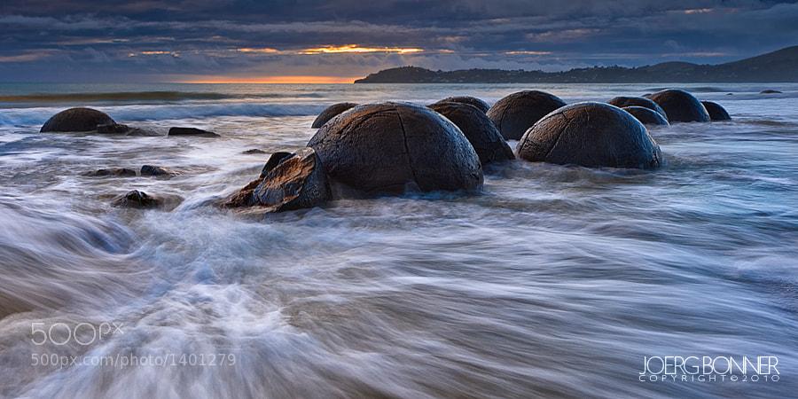 Photograph Moeraki Boulders by Joerg Bonner on 500px