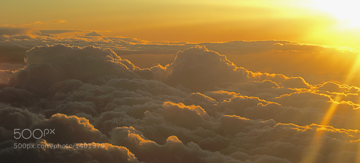 Photograph Over the clouds by Gabriel Skoropada on 500px