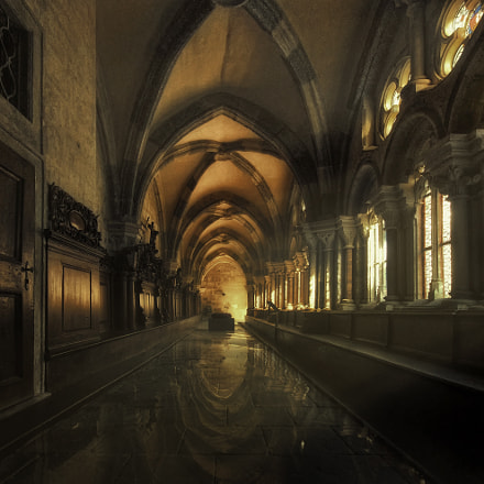 the cloister (re-edit)