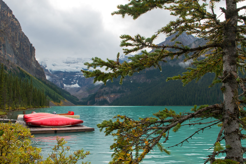 Photograph Lake Louise by Linda Goodhue on 500px