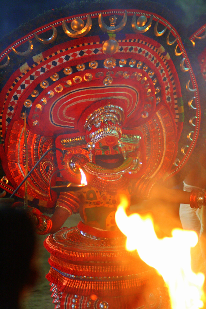 Photograph Theyyam by Ashok  Radhakrishnan on 500px