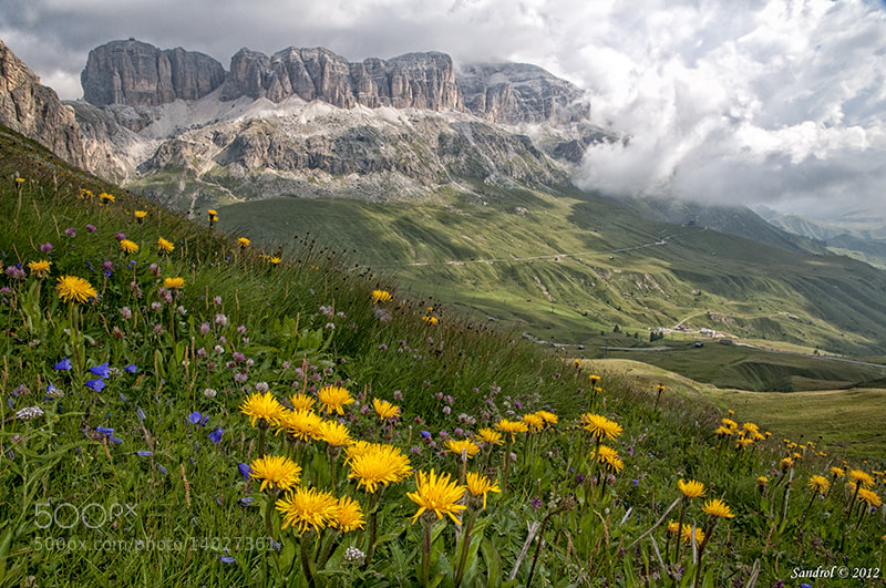Photograph Pordoi Massif by Sandro L. on 500px