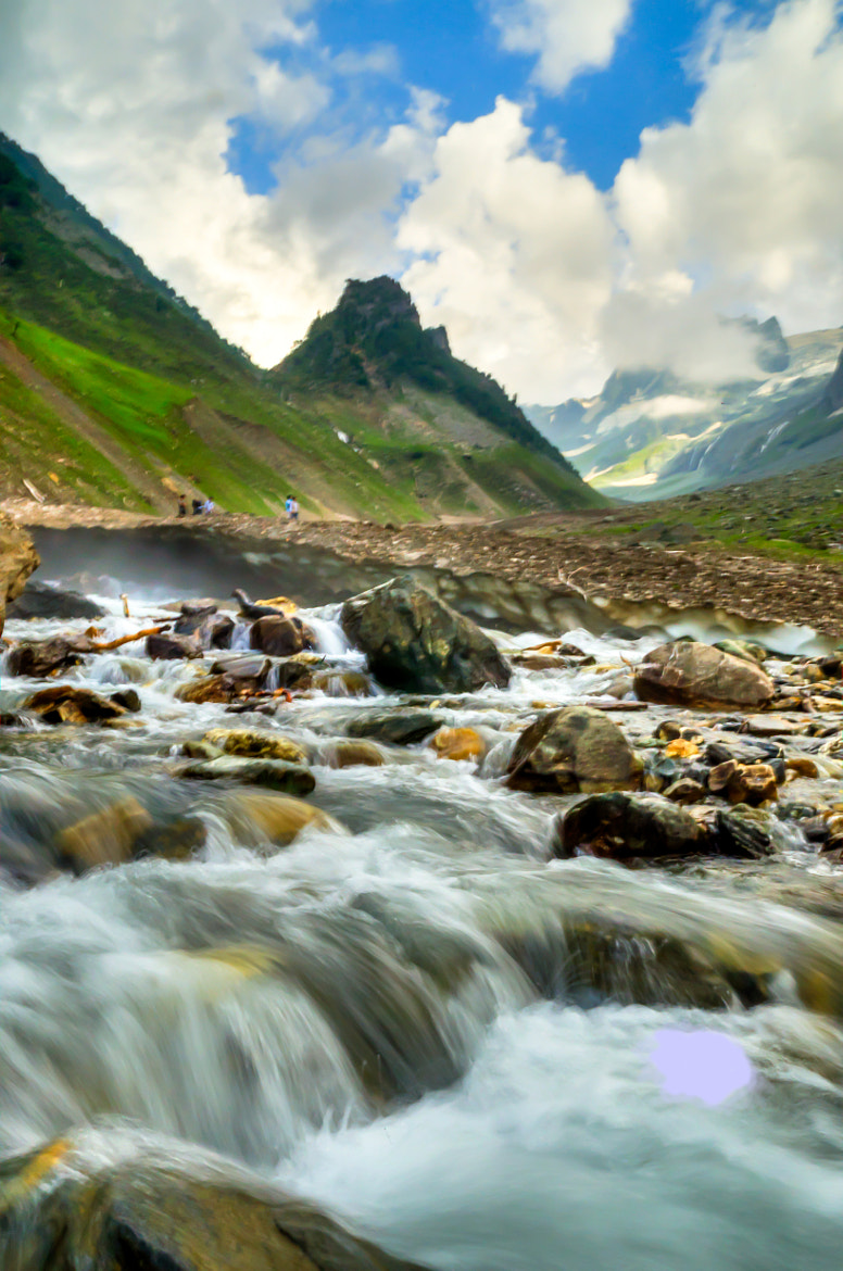 Photograph The flow of water@Sonmarg by Palash K on 500px