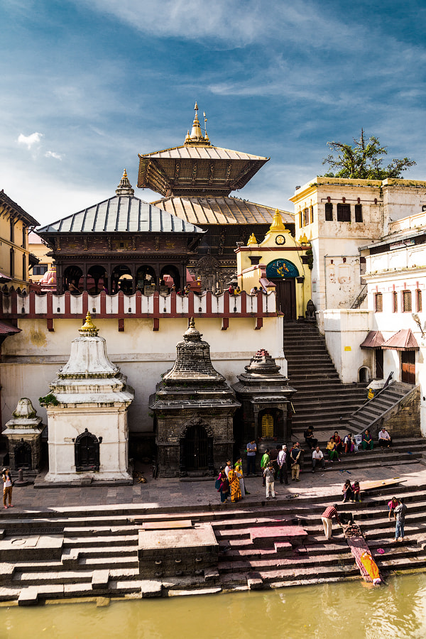 Pashupatinath temple by Pavel Volkov on 500px.com