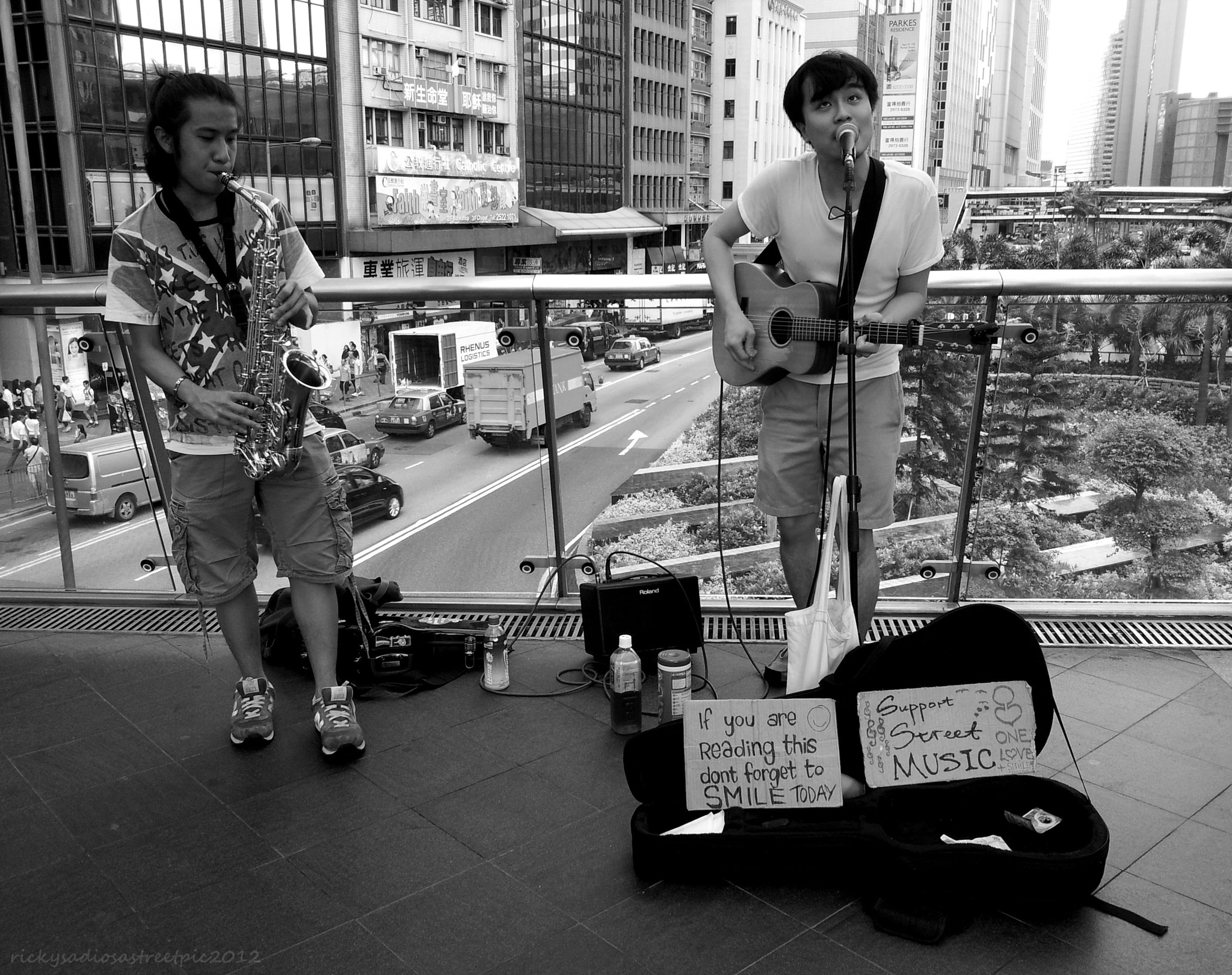 Photograph Young Street Musicians  by Ricky Sadiosa Rueda on 500px