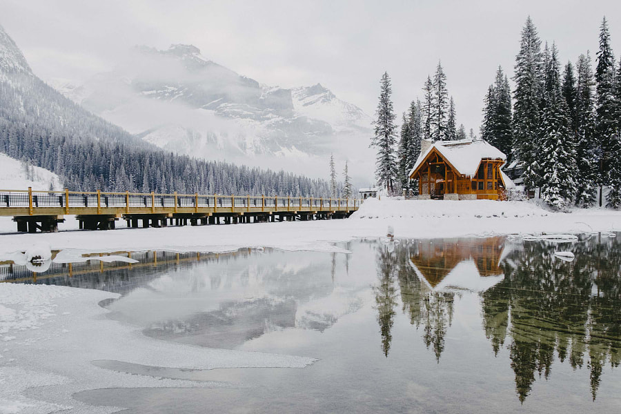 Emerald Lake Lodge by Emanuel Smedbøl on 500px.com