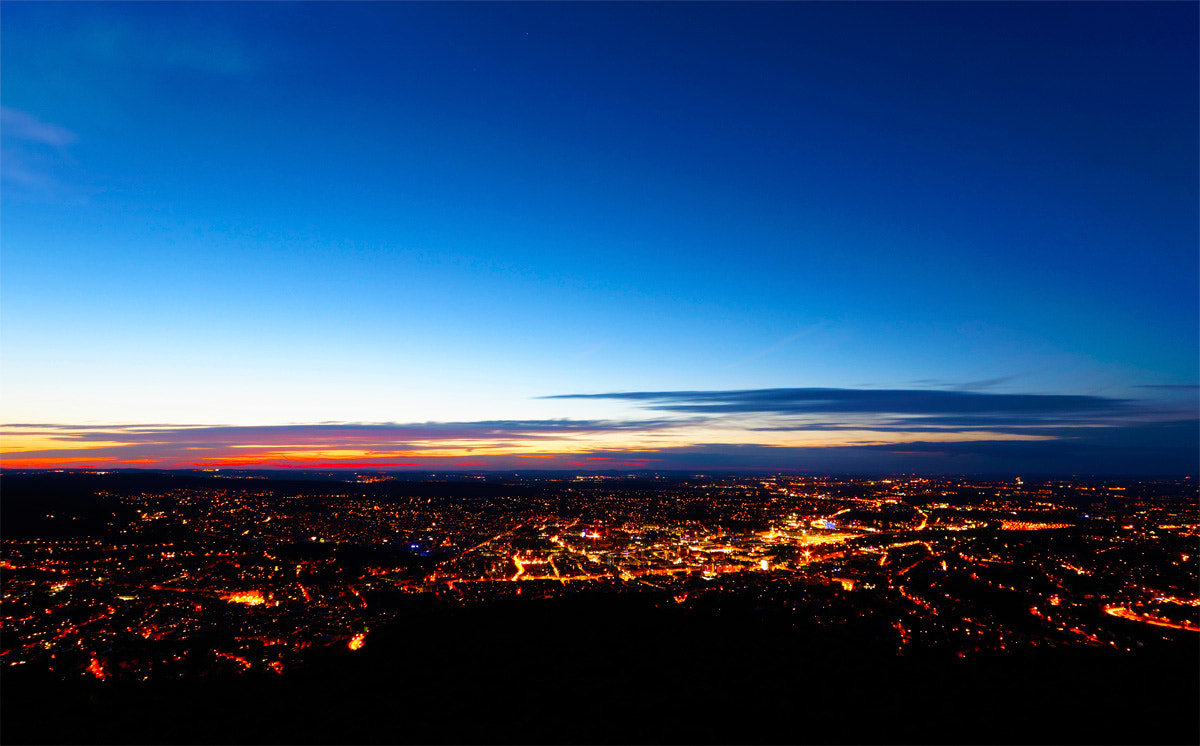 Photograph Stuttgart at Night by Martin Wahler on 500px
