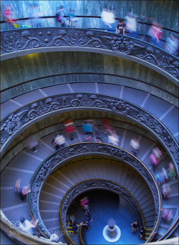 Photograph michelangelo stairs by Fedor Volkov on 500px