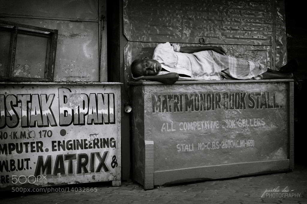 Photograph the place where he sleep! by Partha Das on 500px