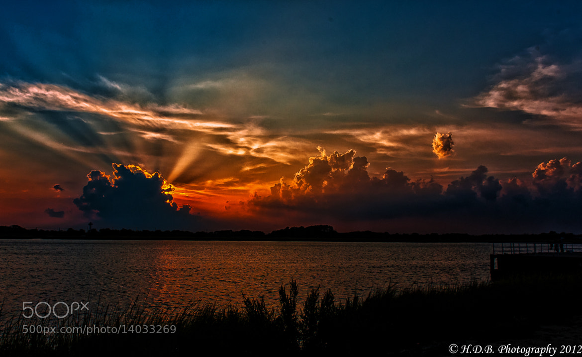 Photograph Sunset Beams by Harold Begun on 500px