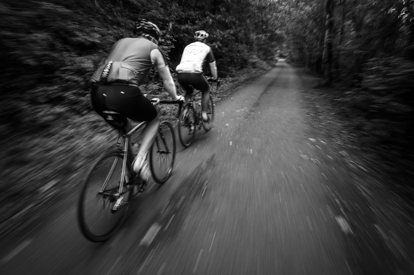 Photograph Road bikers a blur by Stuart Brookes on 500px