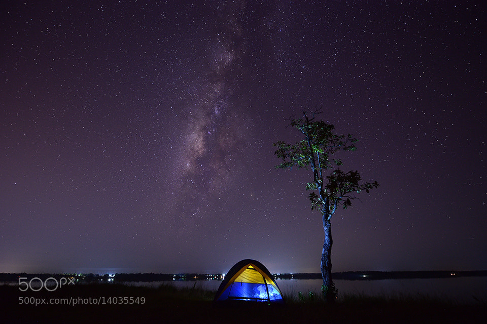 Photograph Milky Way . by sarawut Intarob on 500px