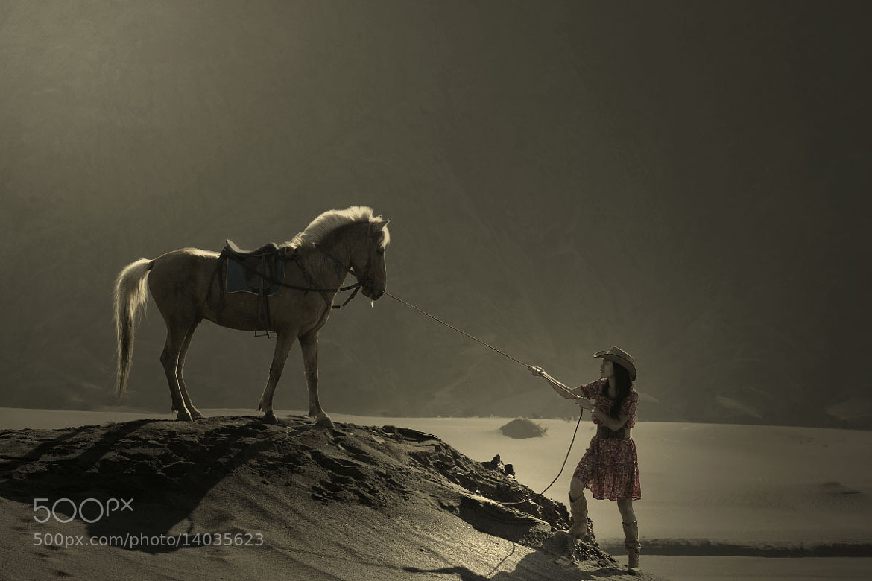 Photograph Girl Horse Rider by Reza Ravasia on 500px