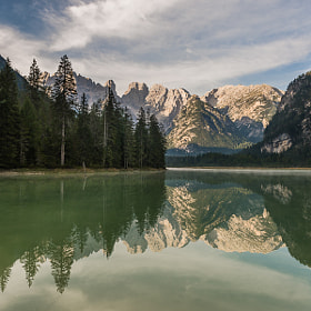 Lago di Lando in the Morning by Hans Kruse (hanskrusephotography)) on 500px.com