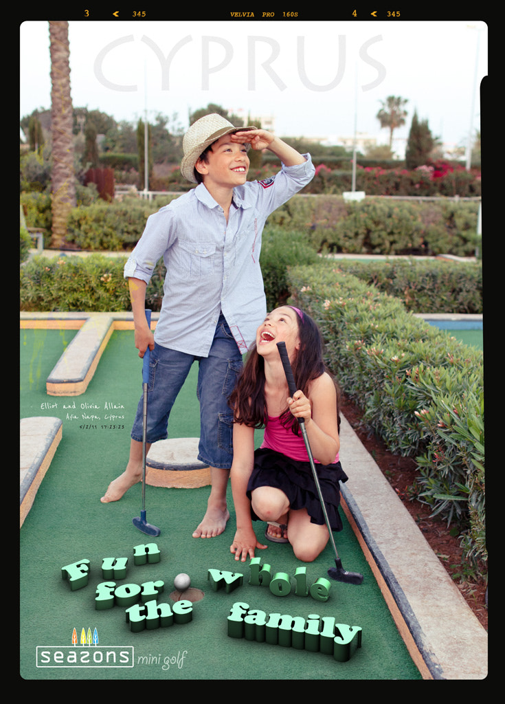 Photograph Mini Golf Poster by Adion Allain on 500px