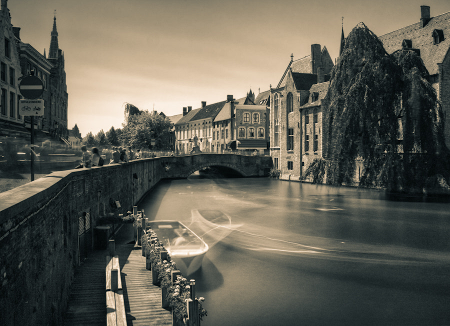 Photograph GhostTraffic in Bruges by Max Vysota on 500px