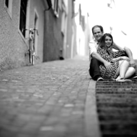 engagement shooting with Kathryn & Andrew in Zurich