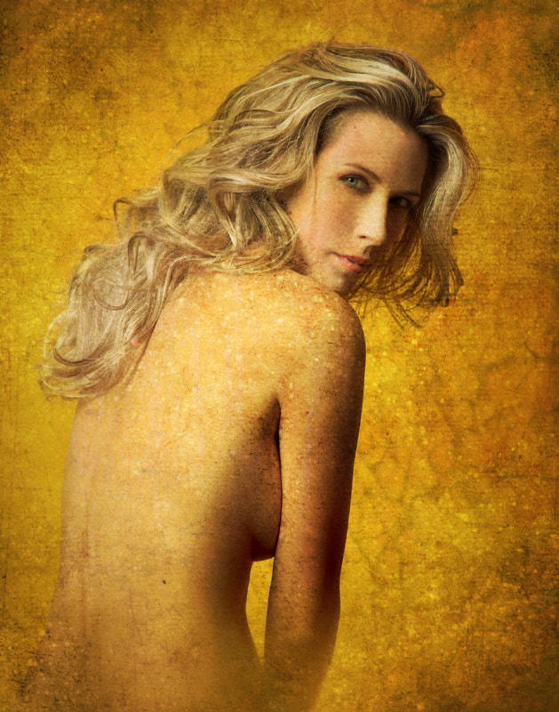 Photograph Golden lady by Daniel Nagy on 500px