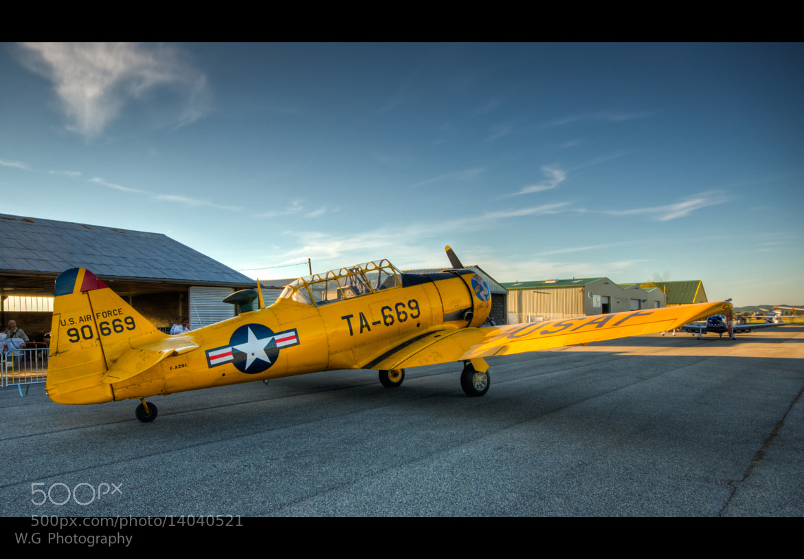 Photograph T6 Texan by Guillaume Weber on 500px