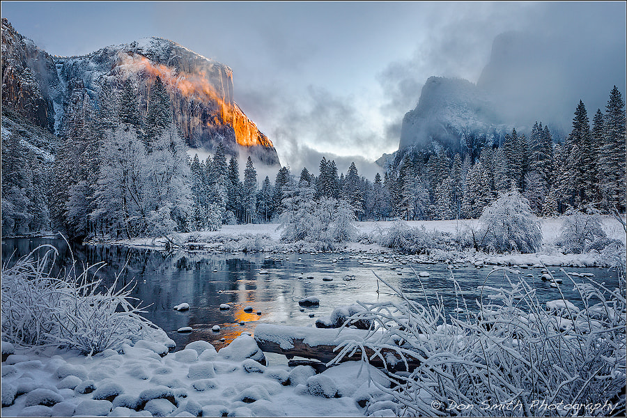 Alpenglow on El Capitan by Don Smith on 500px.com