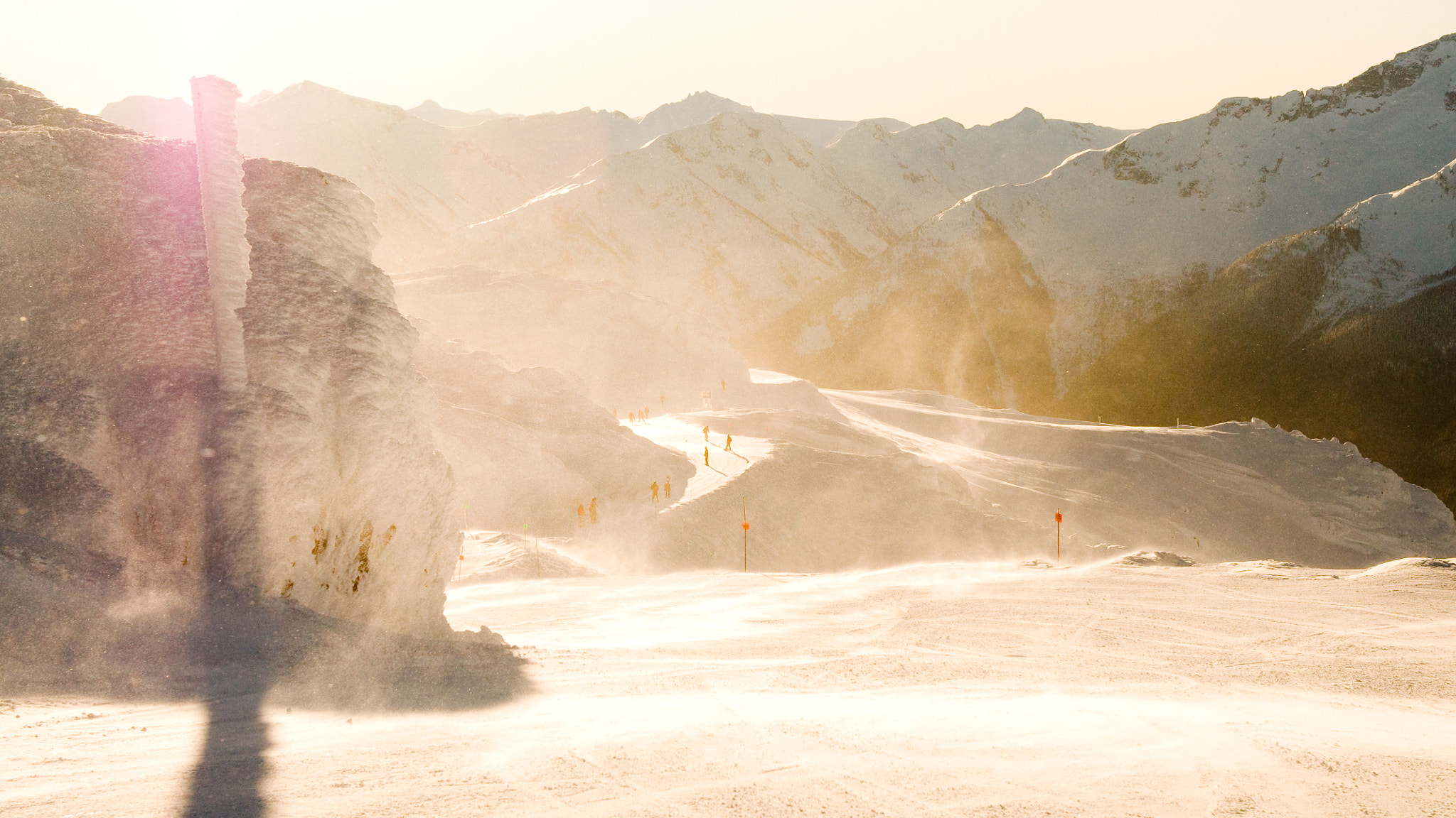 Photograph Windy morning on Whistler peak by Ludovic Duvert on 500px