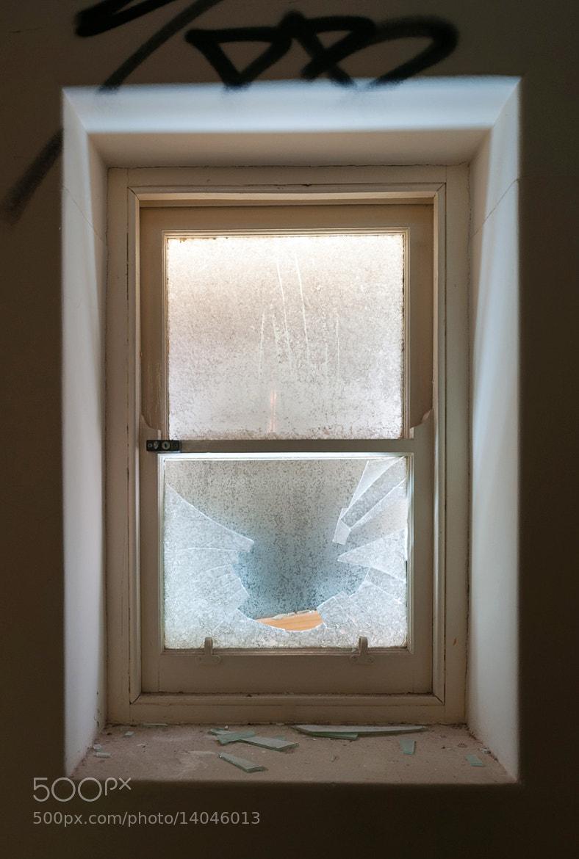 Photograph Broken window by Janko Dragovic on 500px