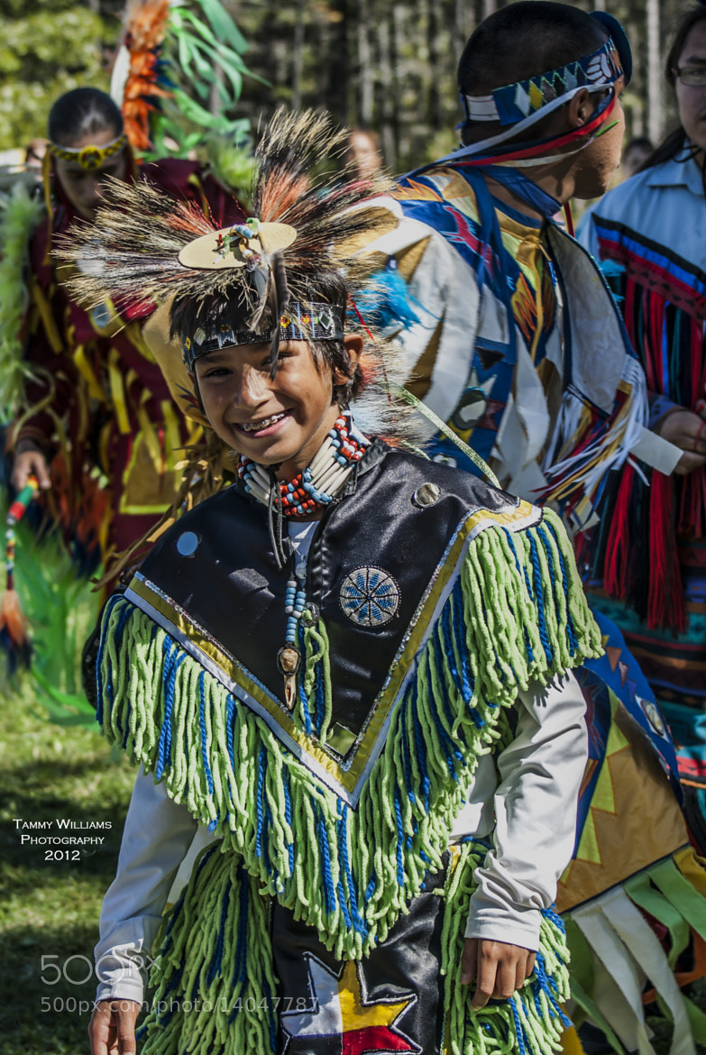 Photograph Gold River Powwow - Young Dancer by Tammy Williams on 500px