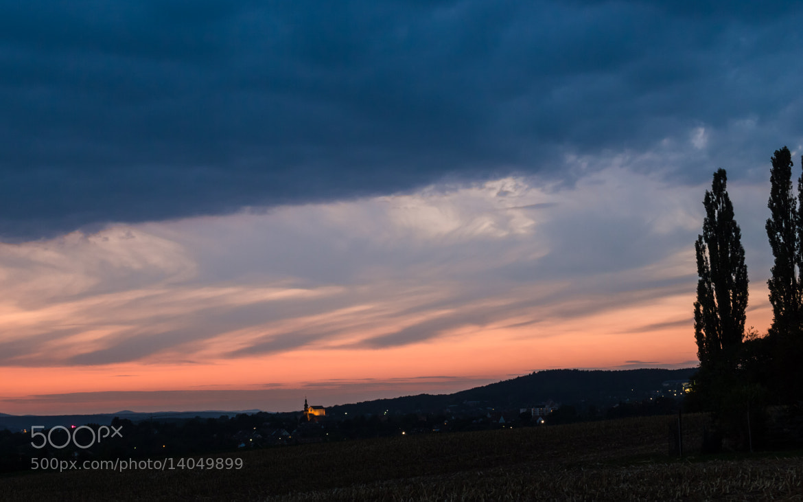 Photograph Sunset over Bayreuth, Bavaria, Germany by Christopher BePunkt on 500px