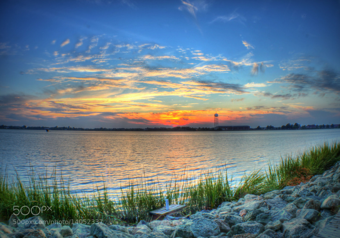 Photograph Sunset over Langley by Neena D on 500px